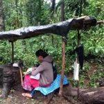 ನೆಟ್ವರ್ಕ್ ಪ್ರಾಬ್ಲಂ: ರಸ್ತೆ ಬದಿ ಶೆಡ್ ಹಾಕ್ಕೊಂಡು ಹಳ್ಳಿ ಮಕ್ಕಳ ಆನ್ಲೈನ್ ಕ್ಲಾಸ್